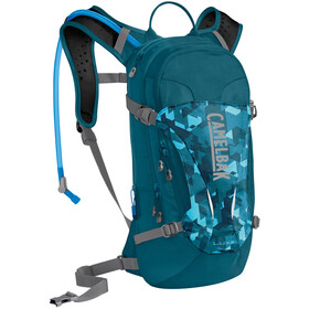 CamelBak L.U.X.E. Rygsæk medium Damer, dragon teal/camelflage